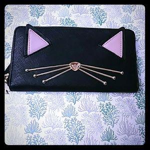Kate spade cat wallet 🐱EUC